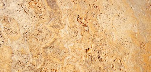 Fachada en m rmol travertino macael amarillo old for Travertino roca