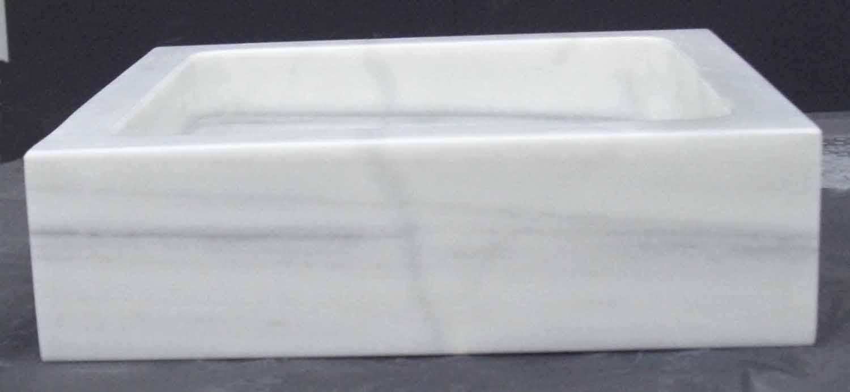 Marmol blanco macael the image kid has it for Lavabo marmol