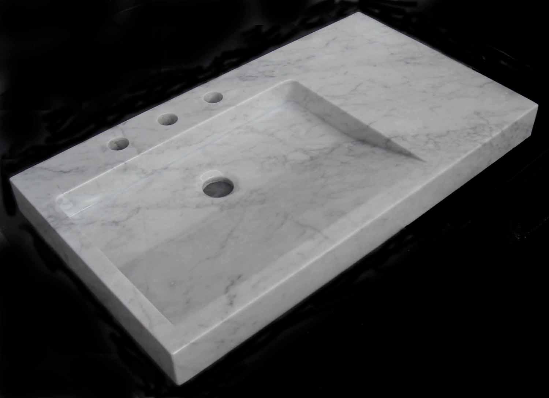 Lavabos de marmol precios materiales de construcci n for Precio encimera marmol